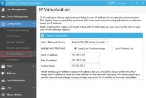 vMatrix 2.2.0 tersedia dengan fitur IP virtualization