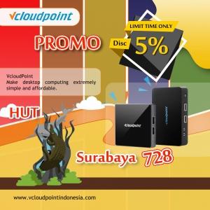 Promo Ulang Tahun Kota Surabaya ke 728 Discount 5 %